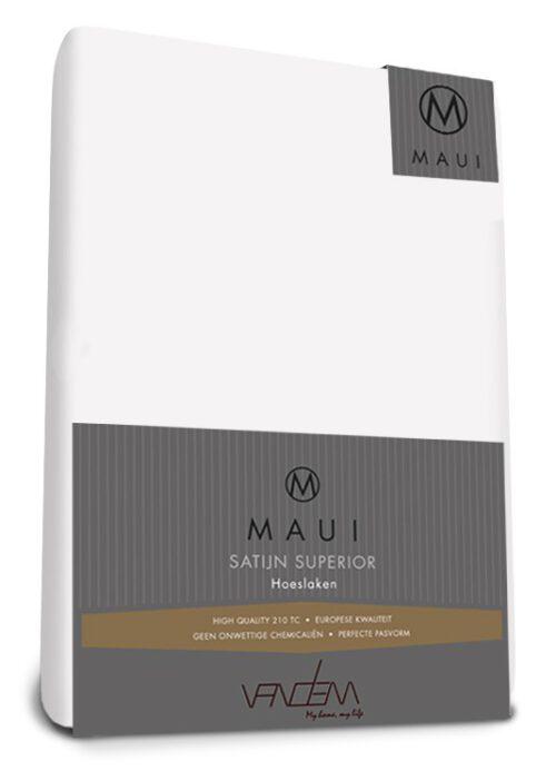 Maui-satijn-wit